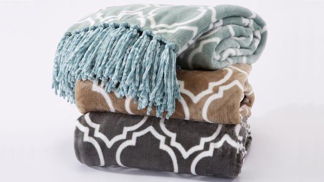 Home Fashion designs Velvet blanket