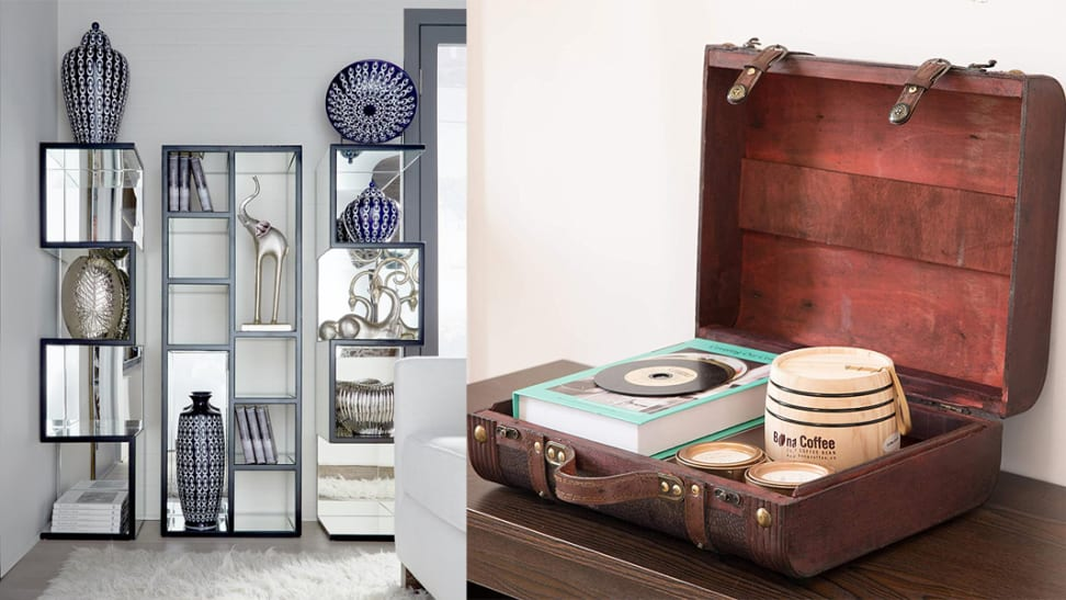 You'd never guess these organizational pieces came from Home Depot!