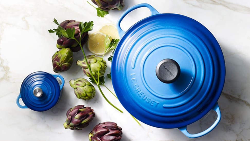We found out about what the Le Creuset lifetime warranty really means after chipping our Dutch oven.