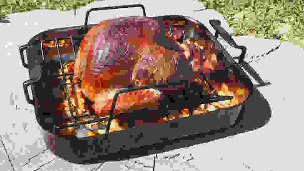 How to smoke a turkey with the Big Green Egg