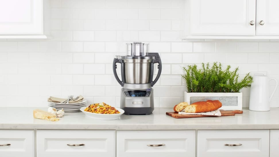 The Cuisinart Complete Chef Cooking Food Processor is a fully functioning food processor that also works as a multicooker.