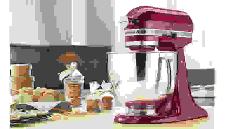 KitchenAid Stand Mixer in Empire Red