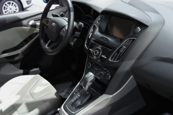 The 2015 Ford Focus interior