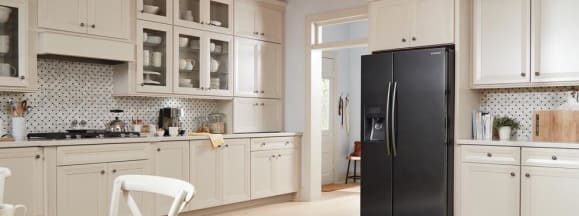 Black stainless steel samsung side by side refrigerators rs25j500dsg 76 1000