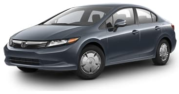 Product Image - 2012 Honda Civic HF Sedan