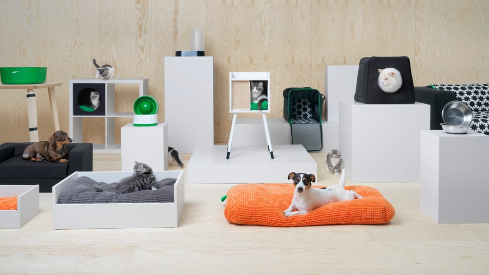 Ikea has debuted its new collection for pets