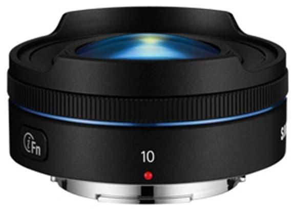 Product Image - Samsung 10mm f/3.5 Fisheye Lens
