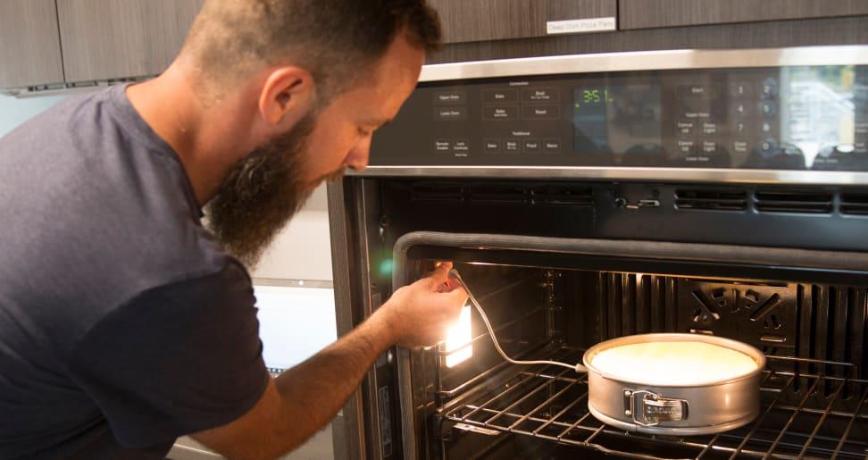 Using GE FirstBuild Precision Bakeware