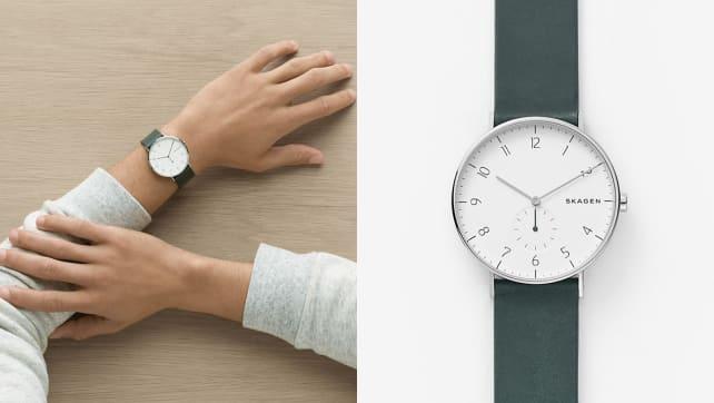 The best gifts for men: Skagen Aaren Watch
