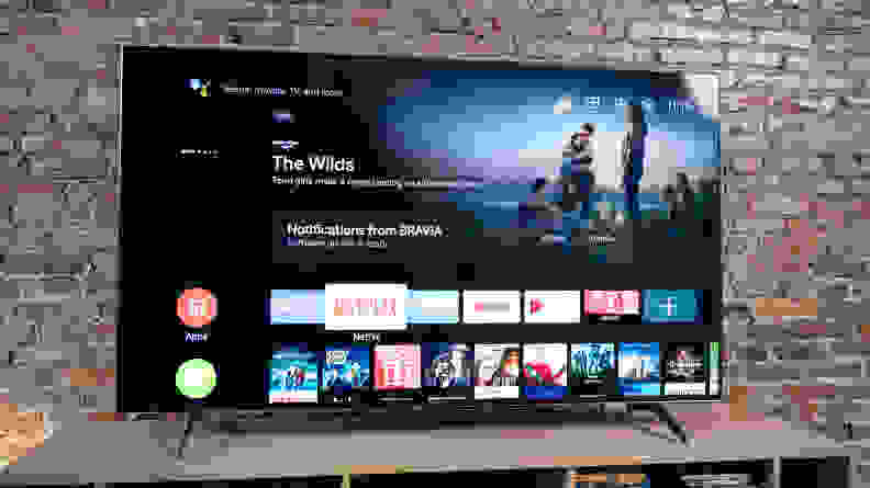 Sony X900H Android TV Smart Platform