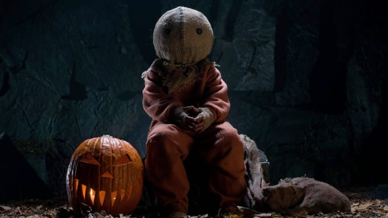 Quinn Lord portrays Sam in Michael Dougherty's 'Trick 'r Treat.'