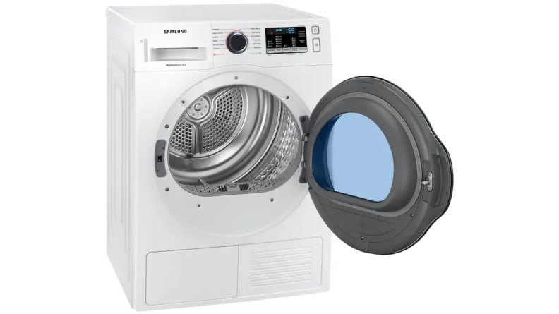 Samsung-DV22N6800HW-compact-heat-pump-dryer