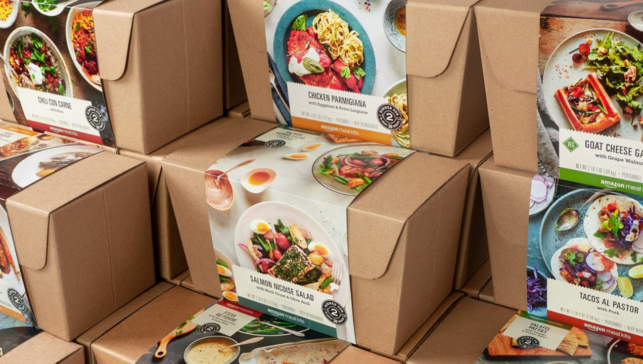 We tried the new Amazon meal kits—here's what happened