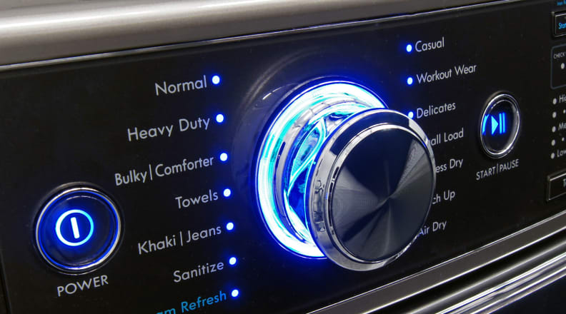 A Kenmore Elite washing machine