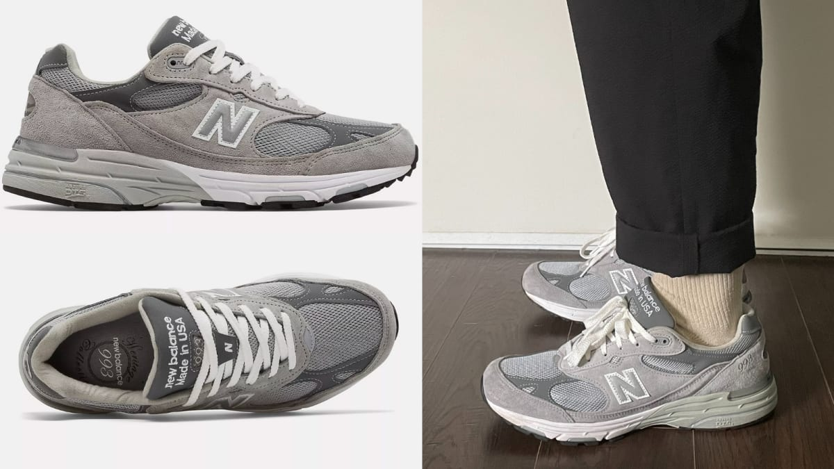 I wear these $200 New Balance sneakers every day