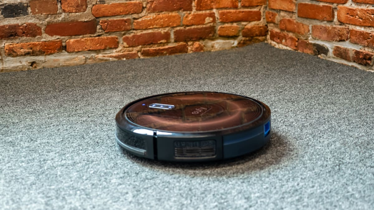 An average robot vacuum that can pinch hit