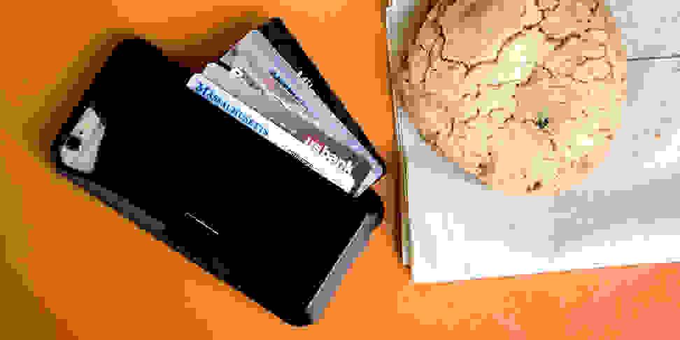 Silk Vault iPhone wallet case