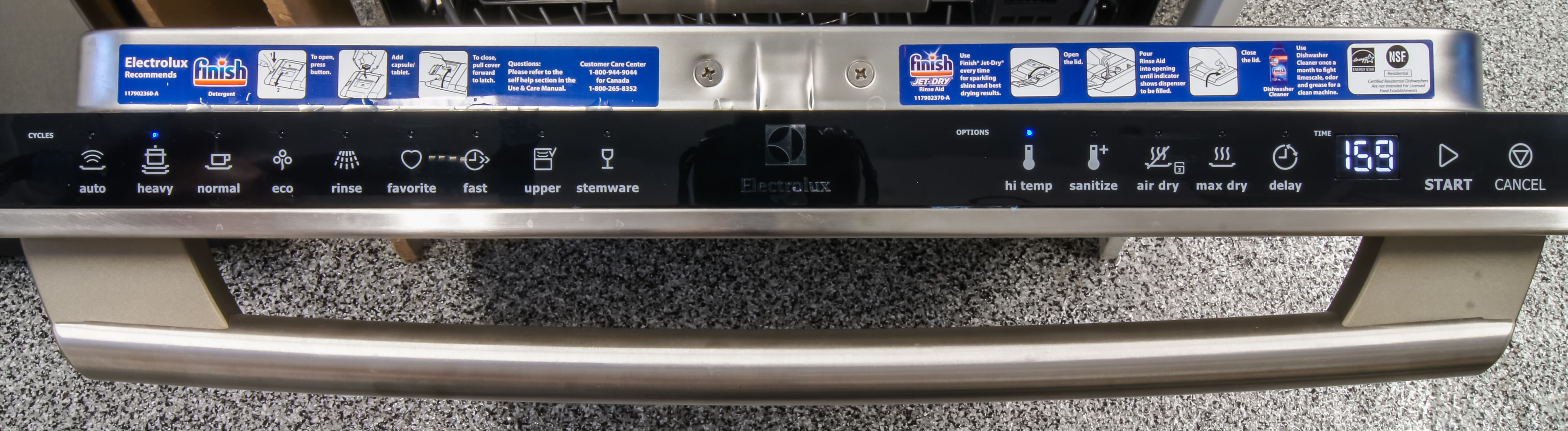 Electrolux EI24ID50QS Dishwasher Review - Reviewed Dishwashers