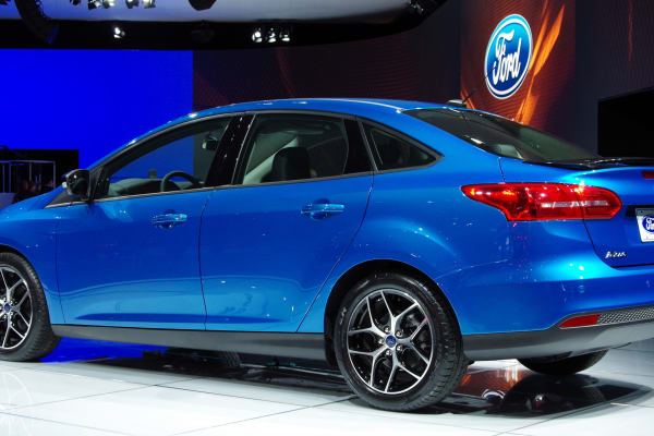 This is our first look at the sedan version of the 2015 Ford Focus