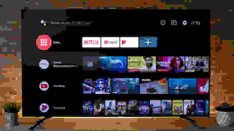 Hisense H8F Android TV Smart Platform