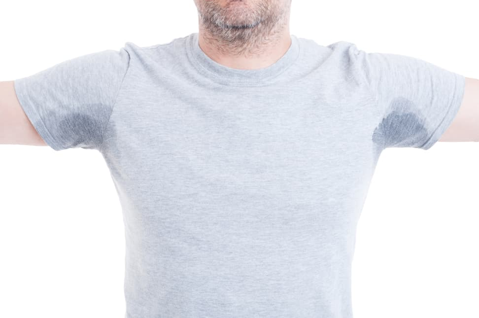 How to remove sweat stains and armpit stains from shirts for Sweat stains on shirt