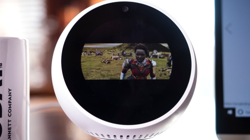 Echo Spot Camera View