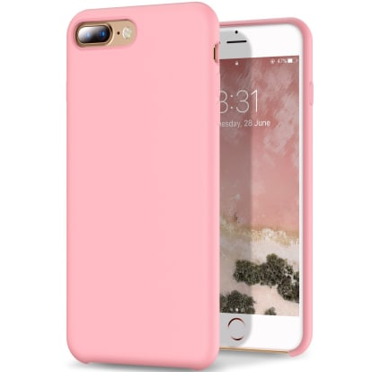 Product Image - Torras Liquid Silicone Gel Rubber Case for iPhone 8 Plus/7 Plus