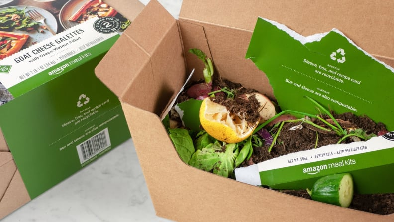 Amazon Meal Kit - Trash