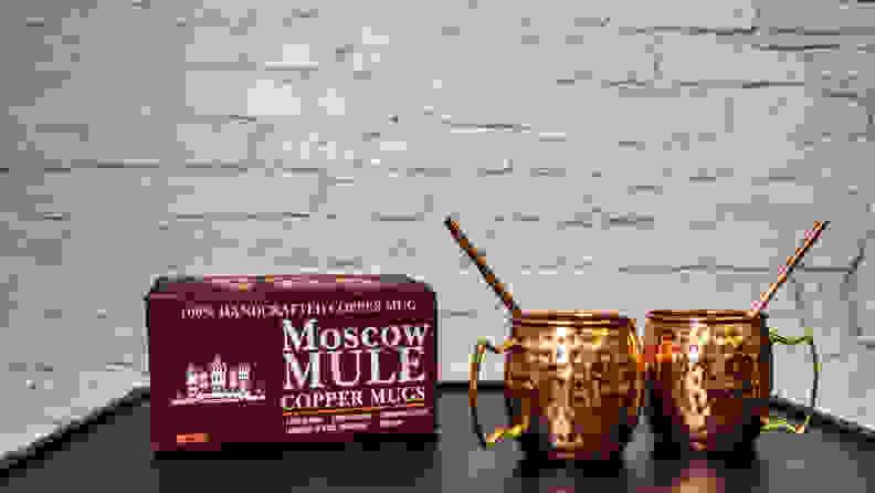 A29 Moscow Mule Mugs