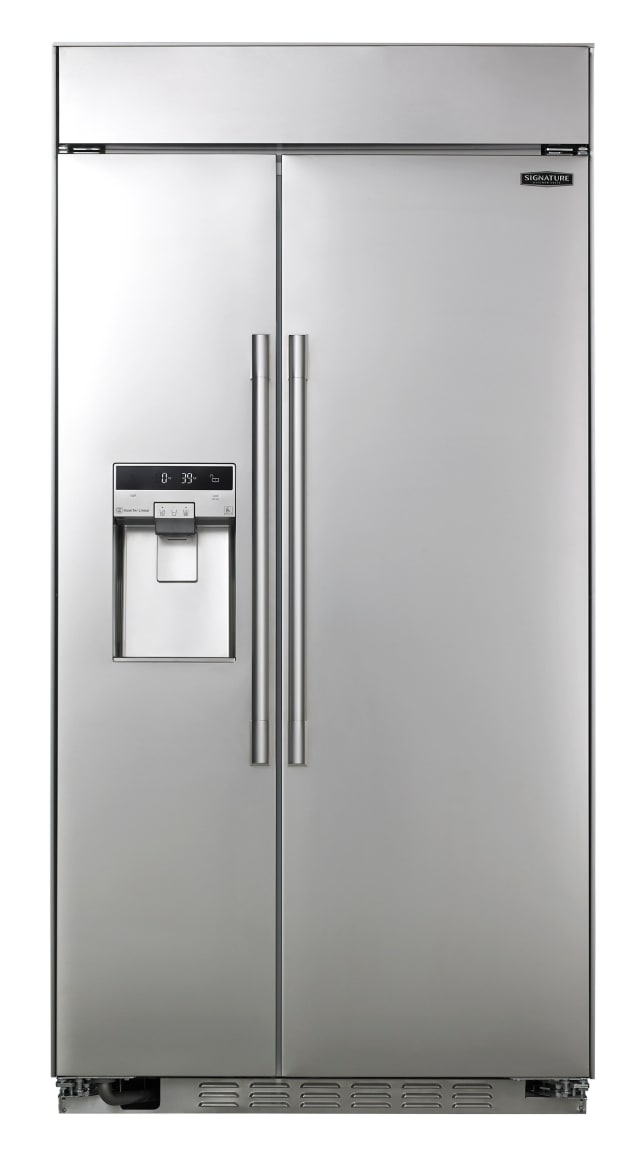 LG Signature UPSXB2627S 42-inch Built–in Side-by-Side Refrigerator