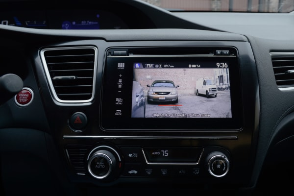 LaneWatch in action on the 2014 Honda Civic.