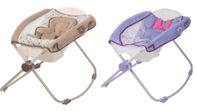 Inclined infant sleeper recall