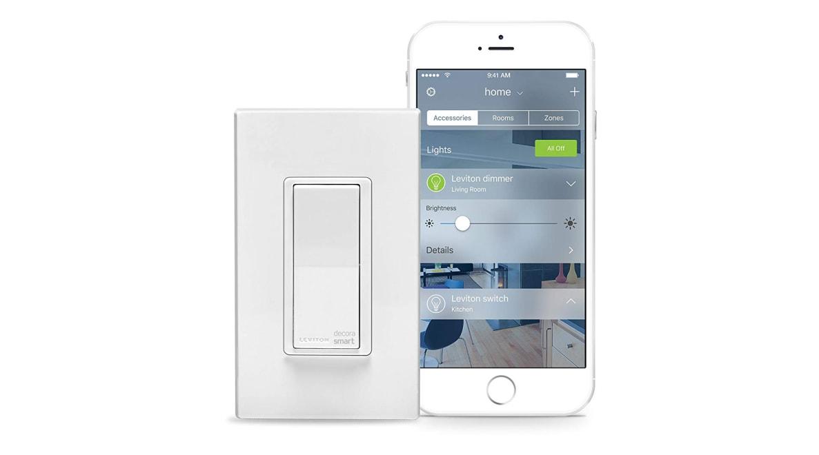 Leviton Decora Smart Switch for Apple HomeKit