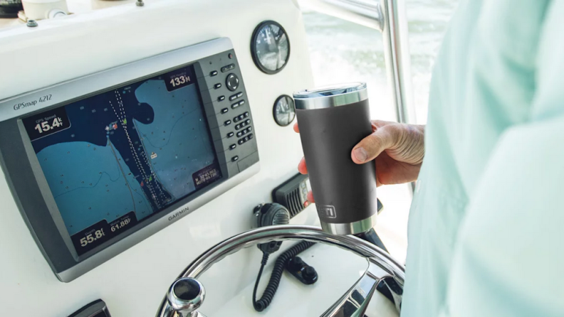 This YETI tumbler is the best of the best.
