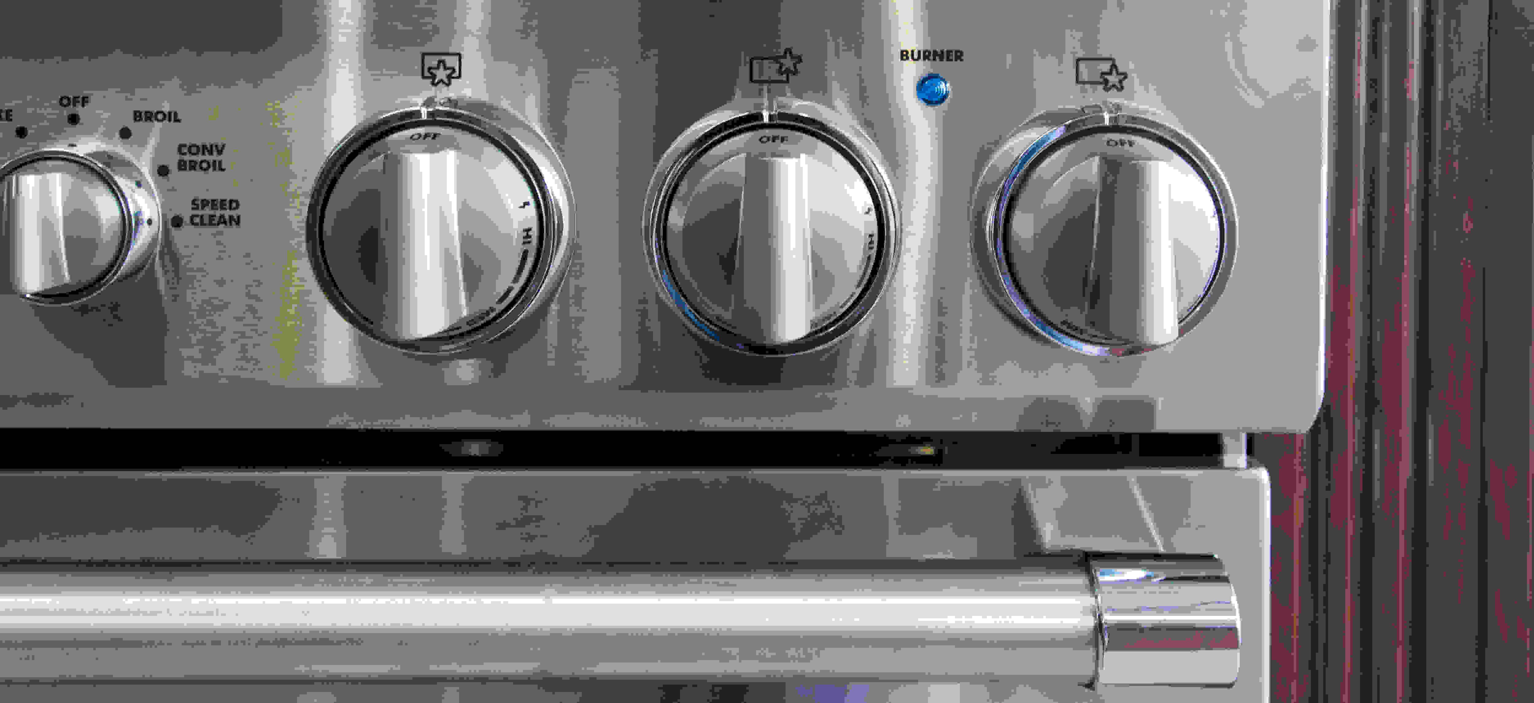 Burner knobs