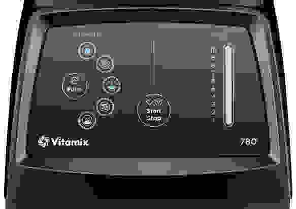 Vitamix 780 control panel