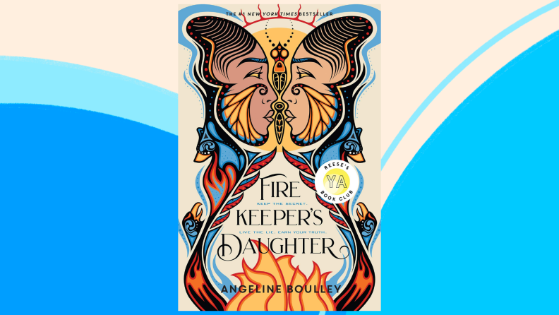 The cover of The Firekeeper's Daughter