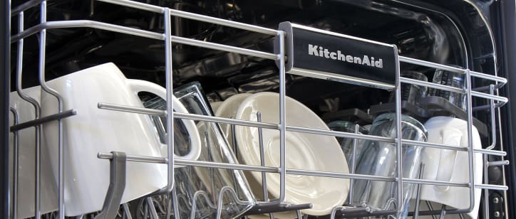 KitchenAid KDFE104DSS Dishwasher Review - Reviewed.com Dishwashers