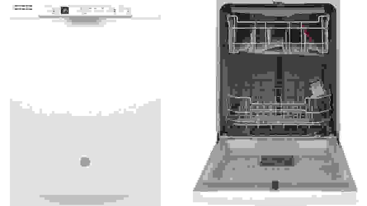 The GE Appliances GDF630PGMWW dishwasher