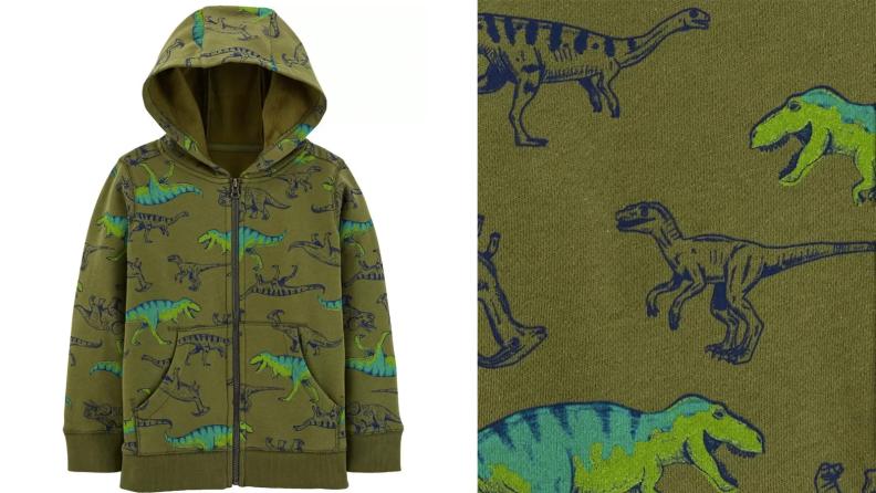 fifteen dinosaur jacket