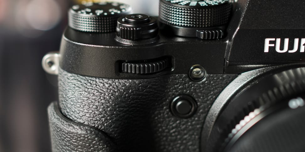 Fujifilm X-T2 Front Grip and Dial