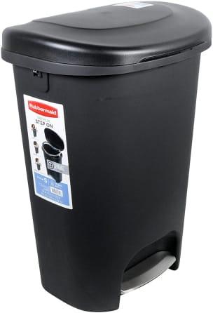 Rubbermaid Step On Wastebasket 13 Gallon