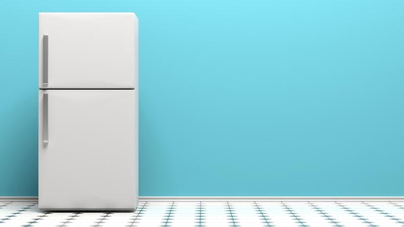 Top-freezer-refrigerator