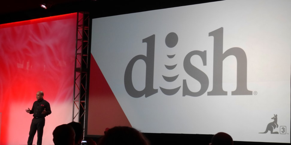 The Dish press conference at CES