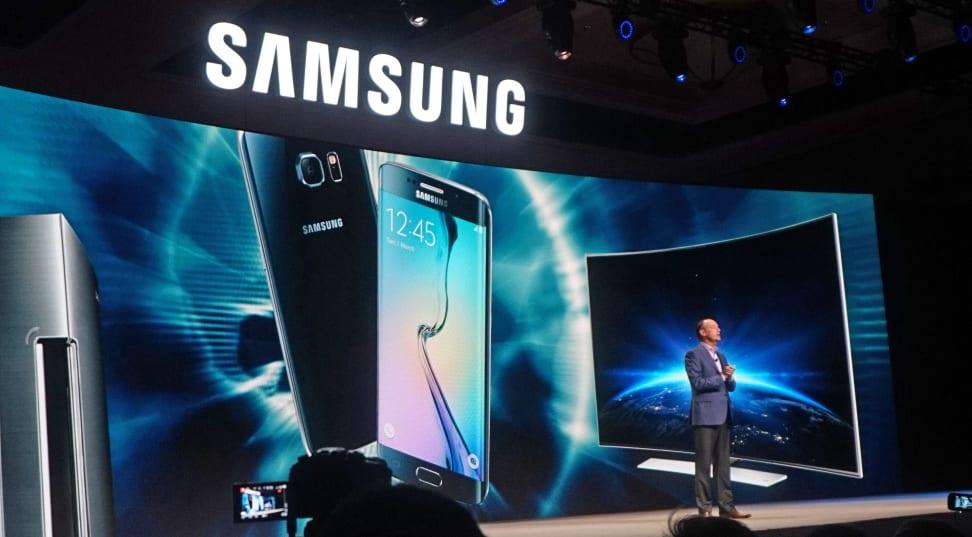 A Samsung 2016 SUHD TV