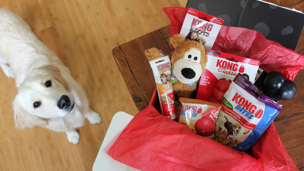 This dog subscription box is pricey, but it can be tailored to your dog's needs.
