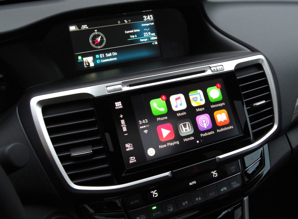2016 honda accord carplay review cars. Black Bedroom Furniture Sets. Home Design Ideas