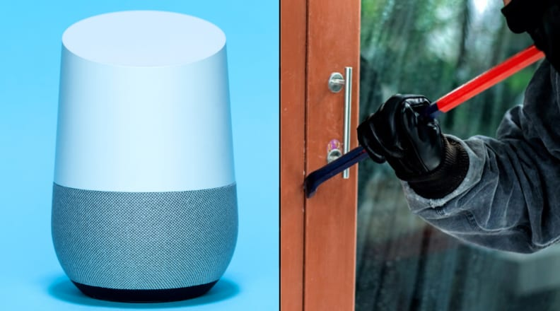 Google Home and intruder