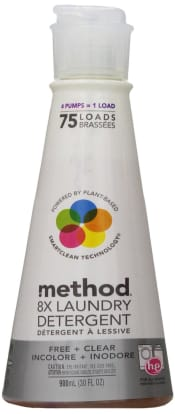 Product Image - Method 8X Free & Clear Laundry Detergent