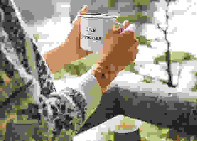 The Created Live With Purpose mug